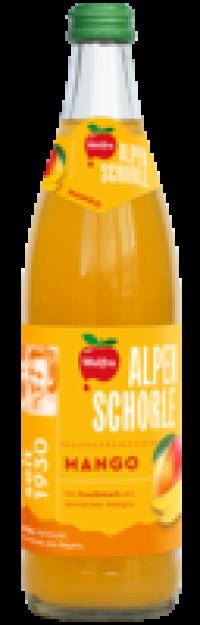Wolfra Alpenschorle Mango 20x0,5l Pfd.