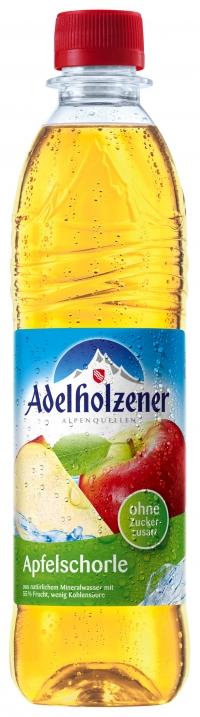 Adelholzener Apfelschorle 0,5 Pet
