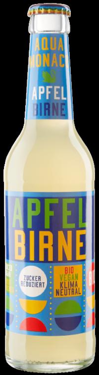 Aqua Monaco Apfel Birne bio 24x0,33l MW