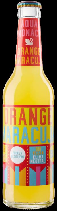Aqua Monaco Orange Maracuja bio 24x0,33l