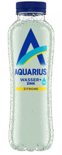 Aquarius Lemon mit Zink PET EW 12x0,4l