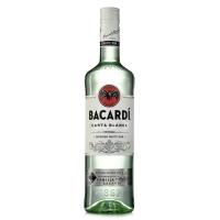 Bacardi Carta Blanca 0,7l- Flasche