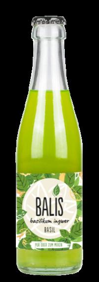 Balis Basilikum Ingwer Drink 24*0,25l