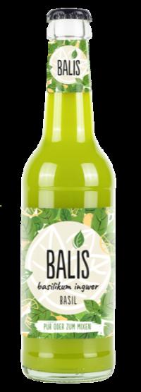 BALIS Basilikum Ingwer Drink 24x0,33l