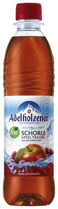 Adelholzener Bio Apfel-Traubenschorle 0,5