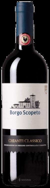 Chianti Classico D.O.C.G. . Borgo Scopeto - 6x0,75l