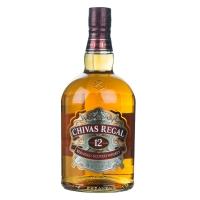 Chivas Regal 12 Jahre 1,0l- Flasche