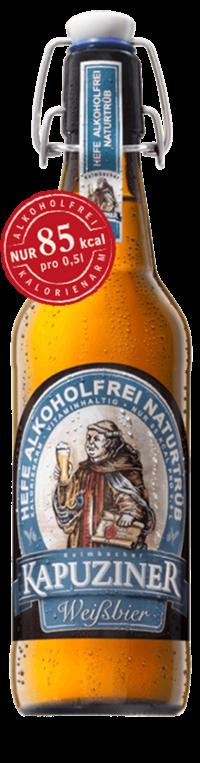 Kapuziner Weizen Alkoholfrei 20x0,5l Bügelflasche