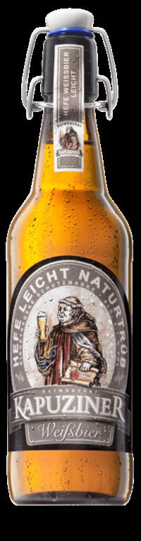 Kapuziner Weißbier Leicht 20x0,5l Bügelflasche