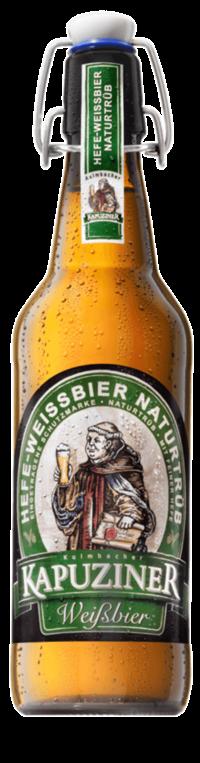 Kapuziner Weißbier 20x0,5l Bügelflasche