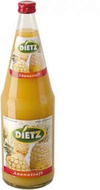 Dietz Ananassaft 6*1,0l