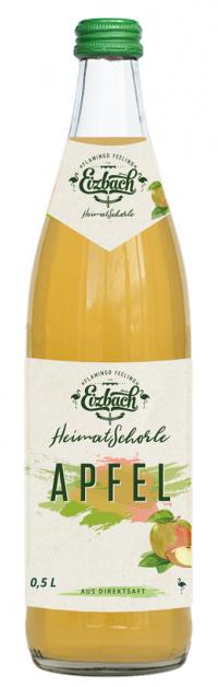 Eizbach Heimatschorle Apfel 10x0,5l