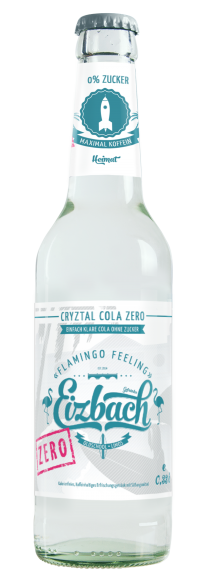 Eizbach Cryztal Cola Zero 24x0,33l Pfd