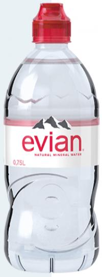 Evian Einweg/Pfand 12x0,75l