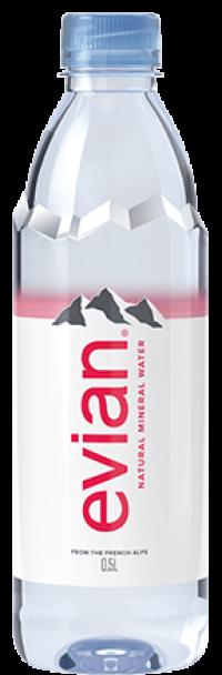 Evian PET 24x0,5l EW/Pfd.
