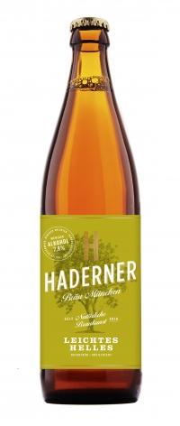 Haderner Bio leichtes Helles 10*0,5l** im Sommer erhältlich