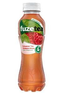 Fuze Tea Schwarzer Tee Himbeere Minze PET 12x0,4l EW/Pfd.