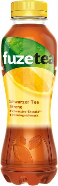 Fuze Tea Zitrone PET EW 12x0,4l