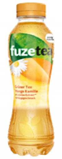 Fuze Tea Grüner Tee Mango Kamille PET 12x0,4l