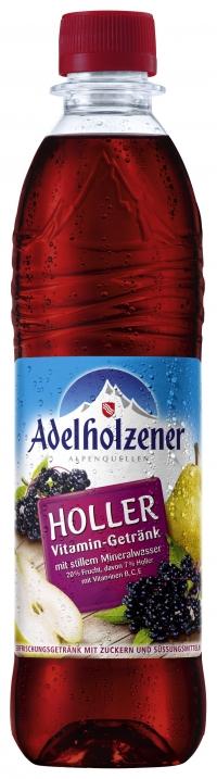Adelholzener Holler Vitamin 0,5 Pet