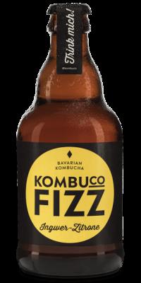 Kombuco Fizz Ingwer-Zitrone 6*0,33l