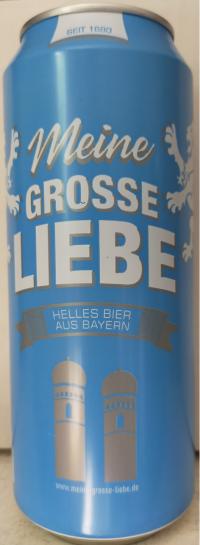 Meine grosse Liebe Helles Bier Dosenbier 24*0,5l