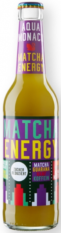 Aqua Monaco Matcha Energie bio 24*0,33l