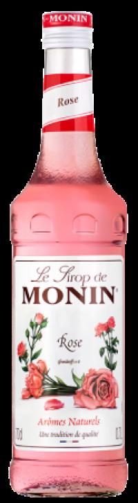 Monin Rose Sirup 0,7l Flasche