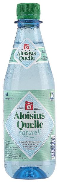 Bucher Aloisius Quelle naturell Pet 20*0,5l