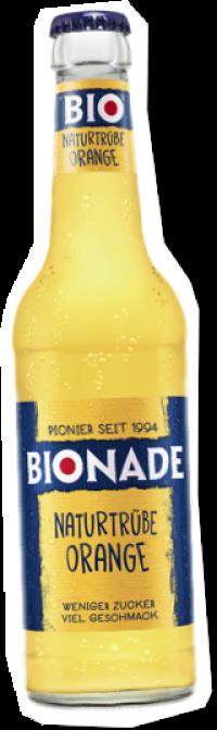 Bionade naturtrübe Orange 24x0,33l Pfd.