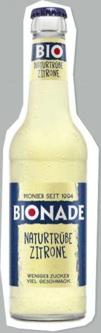 Bionade naturtrübe Zitrone 24x0,33l Pfd.