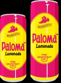 Paloma Pink Grapefruit Limonade Dose 24*0,25 l