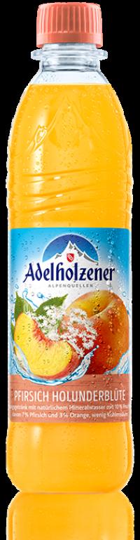 Adelholzener Pfirsich Holunder 12*0,5l