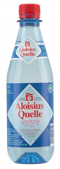 Bucher Aloisius Quelle spritzig Pet 20*0,5l