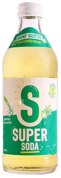 Superfood HANF Quitte 330ml