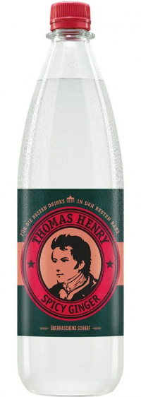 Thomas Henry Spicy Ginger PET 6x1,0l