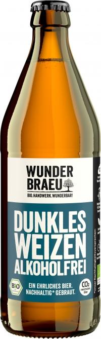 WUNDERBRAEU dunkles Weizen alkfrei BIO 20*0,5l