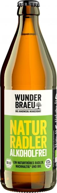 Wunderbraeu Naturradler alkoholfrei BIO 20*0,5l