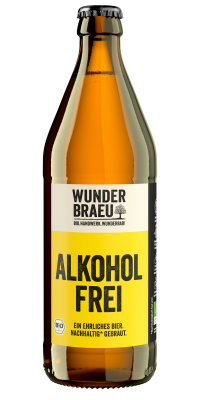 Wunderbraeu Lager alkoholfrei Bio 20*0,5l