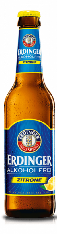 Erdinger alkoholfrei Zitrone 24x0,33l